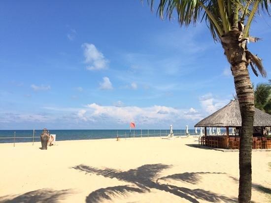 Eden Resort: 海邊