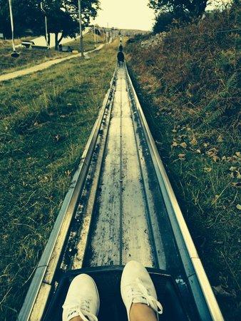 Llandudno Ski Slope: Eeek!