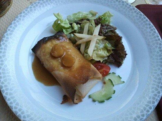 Au Bouillon Normand : Croustillant de camembert