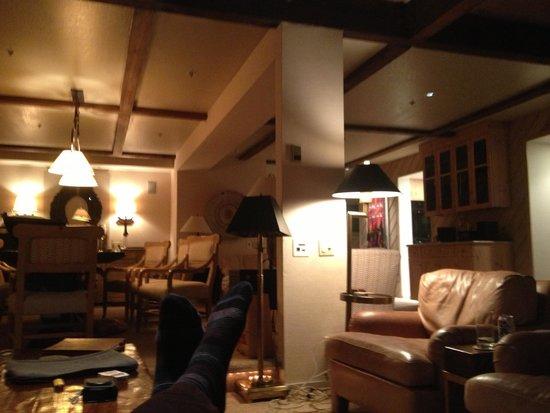 The Gant : Lounge in premium apartment.