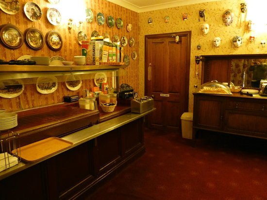 Inchbae Lodge Inn : Zona colazione