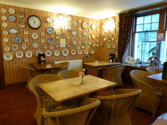Inchbae Lodge Inn : la zona ristorante