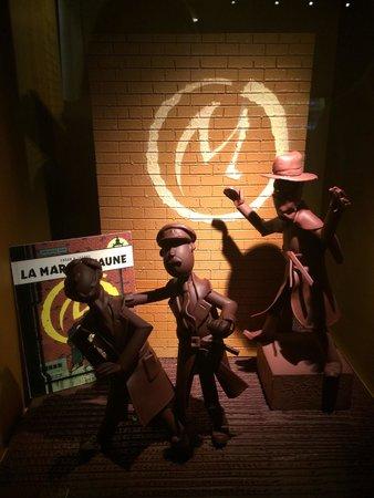 Cité du Chocolat Valrhona : La marque jaune chocolat !