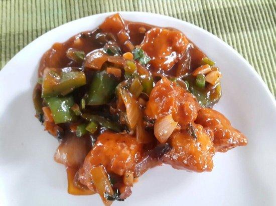 Spice Garden Restaurant: Fish Chilly...very good