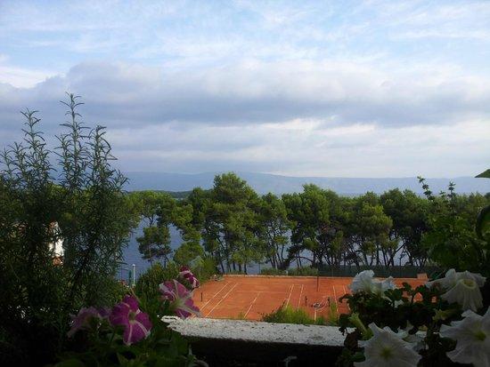 Hotel Hvar: vue de la salle de repas......