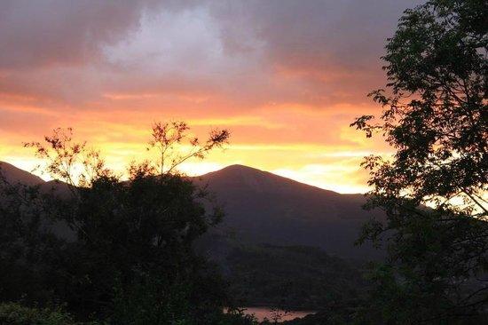 Castlerigg Hall Caravan and Camping Park: Sunset at Castlerigg