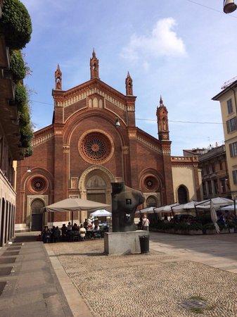 Milano da Vedere : Milano: Chiesa Santa Maria del Carmine.