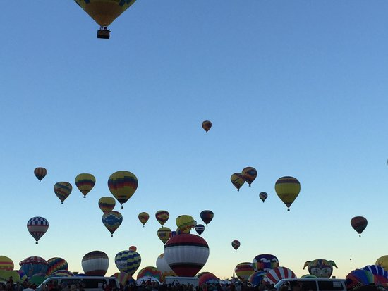 Balloon Fiesta Park: 2014 balloon fiesta