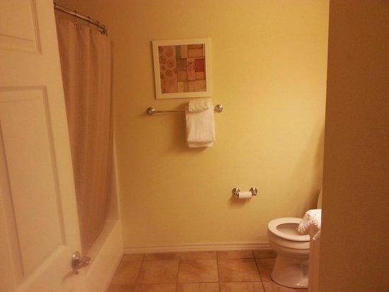 Holiday Inn Club Vacations Fox River Resort : bath in adjoining room