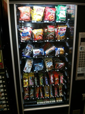 Oak Tree Inn: $0.90 snack vend