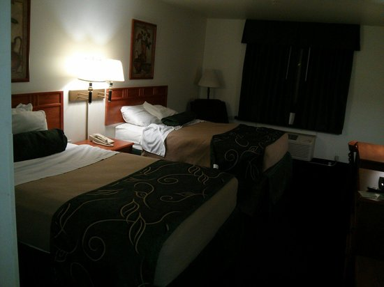 Oak Tree Inn: 2 beds very comfortable