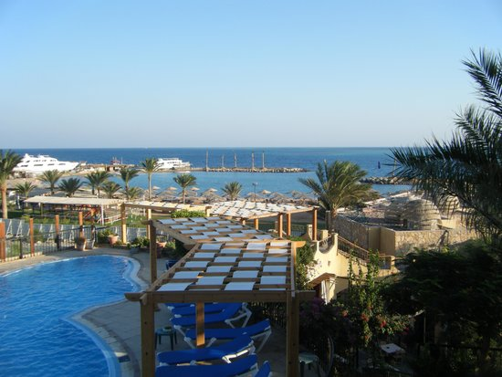 Jewels Sahara Boutique Resort: View from balcony