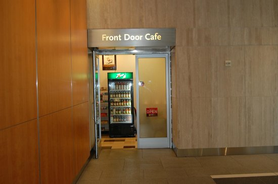 Inside Front Door Open On Entrance To Front Door Cafe Pretty Small Inside Picture Of