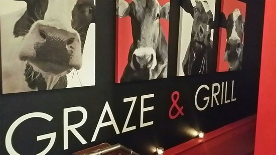 Deano's Graze & Grill: Awesome picture. It's better than the Chik-Fil-A cow pictures