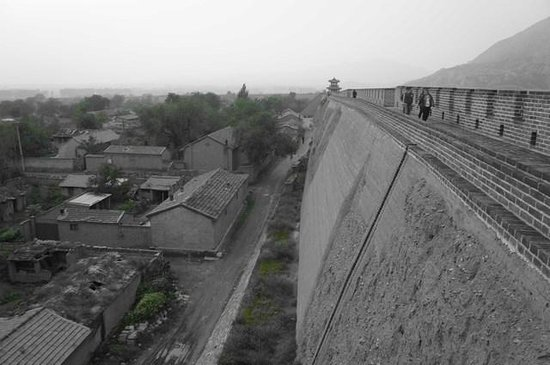 Huailai County, China: Wall