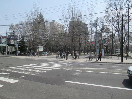 Nakajima Park : 公園入口です