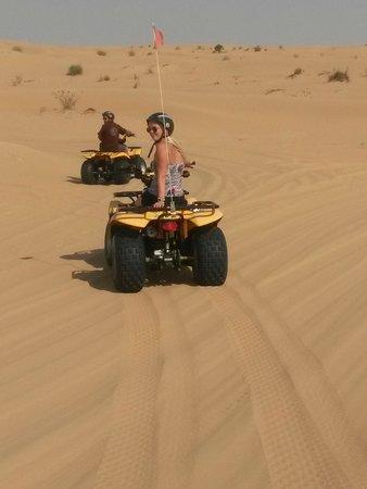 Sand Trax Dubai Desert Safaris: Quad