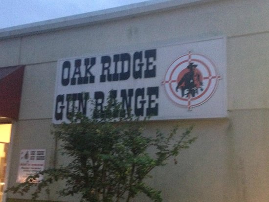 Oak Ridge Gun Range: Look out for sign