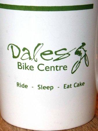 Fremington, UK : Dales Bike Centre cafe mug