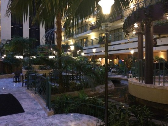 Embassy Suites by Hilton Minneapolis - Airport : Inside hotel gardens