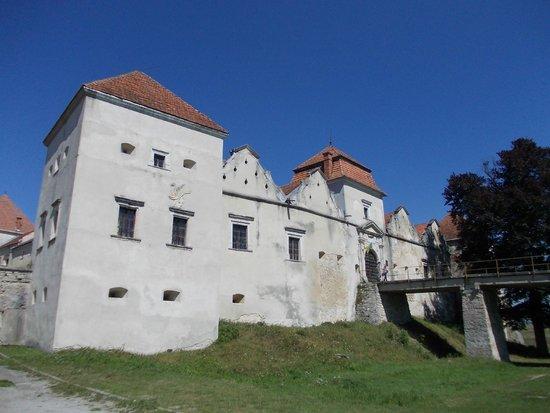 Svirzh Castle: Facciata anteriore