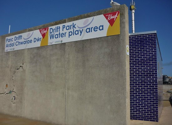 Drift Park Water Play Area