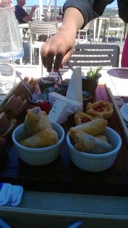 La Vierge Restaurant: The Gourmet platter