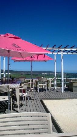 La Vierge Restaurant: The Champagne deck