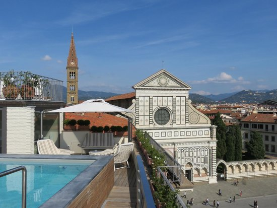 Grand Hotel Minerva: Santa Maria Novella and Fiesole in the background