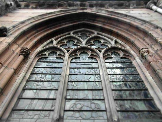 Lichfield Cathedral: Window detail