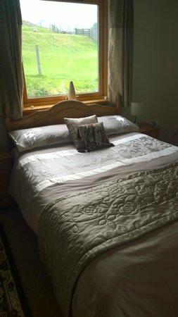 Seabound Bed and Breakfast: Camera vista montagna