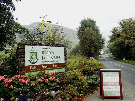 Entrance to Kilnsey Park