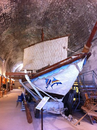 The ancient ship - Picture of Maritime Museum of Crete ...