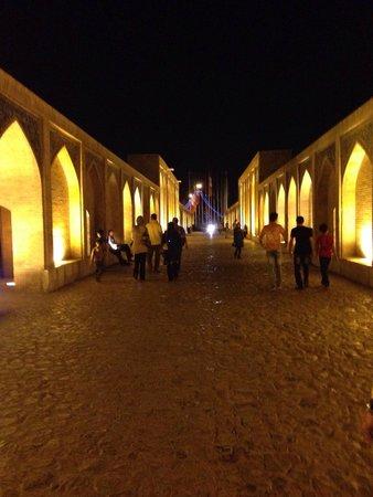 Pont de Khajou : Bridge