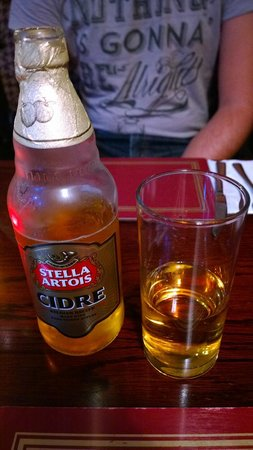 "Ben Nevis Bar and Restaurant: Una ""piccola"" Cider :o)"