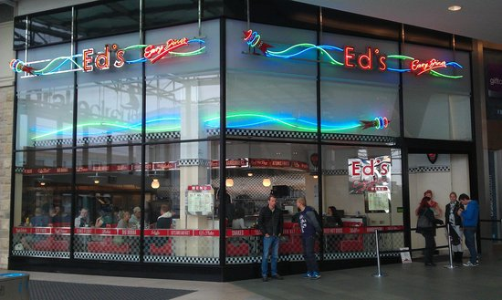 Ed's Easy Diner Plymouth Drake Circus
