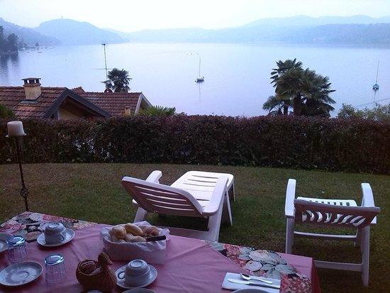 Villa Pinin: zona colazione