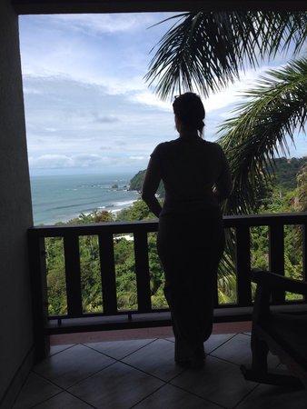 Hotel Costa Verde: Enjoying the view.