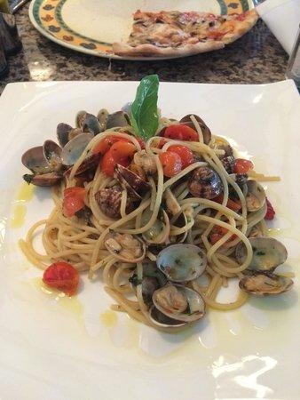 Trattoria Calabrese: Spaghetti Vongole