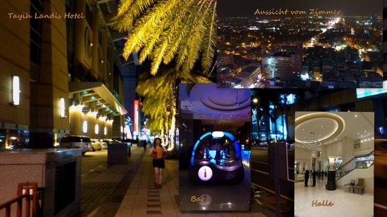 Tayih Landis Hotel Tainan : am Abend