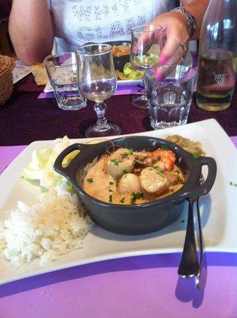 Prim'Hotel Bagatelle : le plat chaud