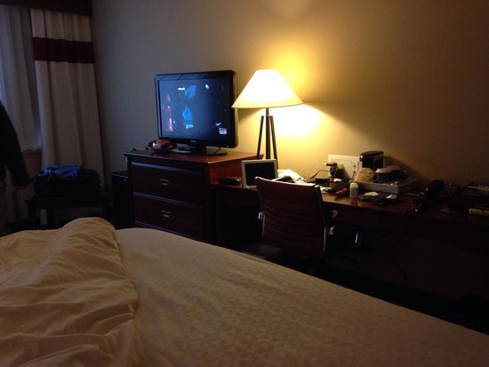 Four Points by Sheraton Halifax : I believe the dresser and tv should swap places with the desk