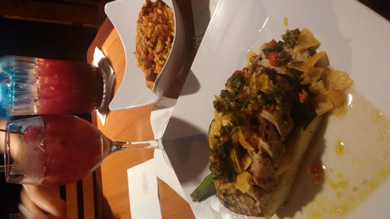 Bagua Restaurant: Pork Mignon with Mamposteao Rice