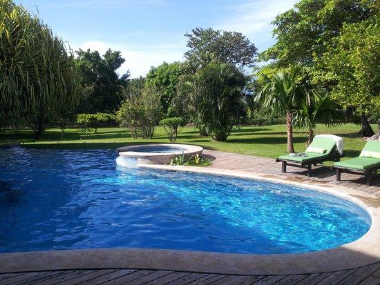 Hacienda JJ: sunny morning by the pool :)