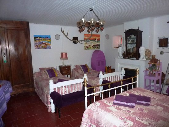 Le Portel des Arnaud : la chambre familiale 1900