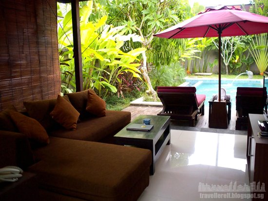 The Awan Villas : Living room area