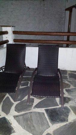Hotel Estrella de las Nieves: Terraza