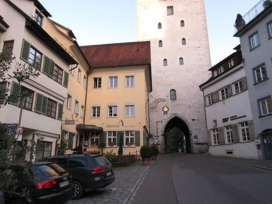 Hotel-Gasthof Obertor: Abendstimmung am Hotel