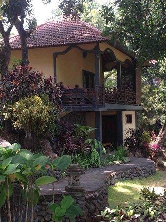 Puri Mangga Sea View Resort & Spa: palm house - lovely