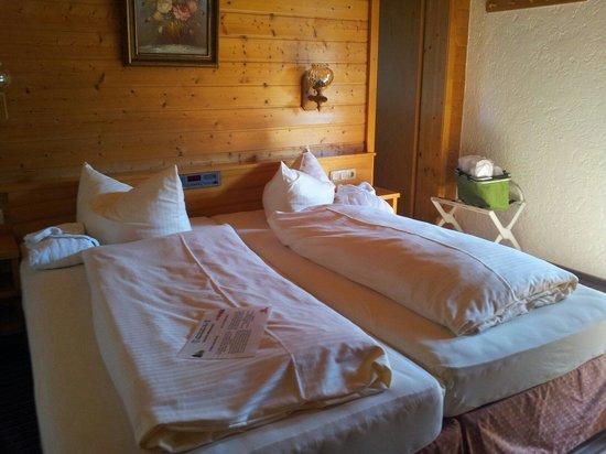 Wellness-Sport-Hotel Bayerischer Hof: Gemütliche, sehr weiche Betten